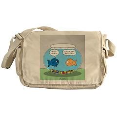 Fishbowl Divorce Messenger Bag