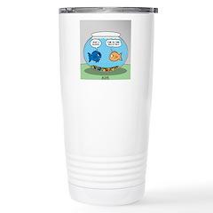 Fishbowl Divorce Travel Mug