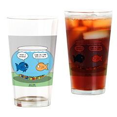 Fishbowl Divorce Drinking Glass