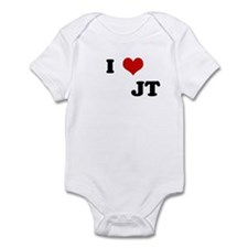 I Love          JT Infant Bodysuit