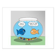 Fishbowl Divorce Posters