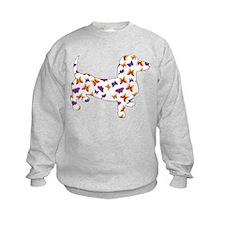 Butterfly Doxie Dachshund Sweatshirt
