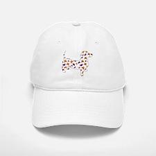 Butterfly Doxie Dachshund Baseball Baseball Baseball Cap