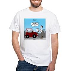 Smart Car vs Dumb Guy Shirt