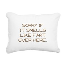 Sorry Rectangular Canvas Pillow