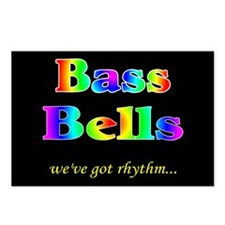 Bass Bells Black Postcards (Package of 8)