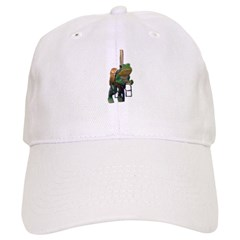 carousel frog Baseball Cap