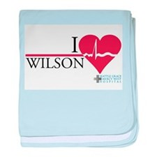I Heart Wilson - Grey's Anatomy Infant Blanket