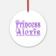 """""""Princess Alexis"""" Ornament (Round)"""