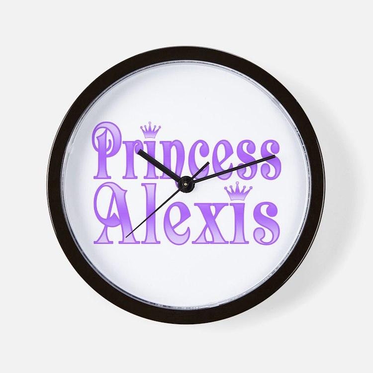 """Princess Alexis"" Wall Clock"