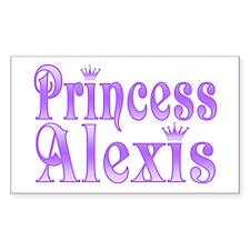 """""""Princess Alexis"""" Rectangle Decal"""