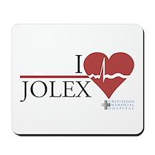I Heart JOLEX - Grey's Anatom Mousepad