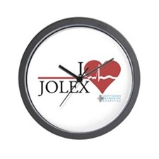 I Heart JOLEX - Grey's Anatomy Wall Clock