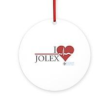 I Heart JOLEX - Grey's Anatomy Round Ornament