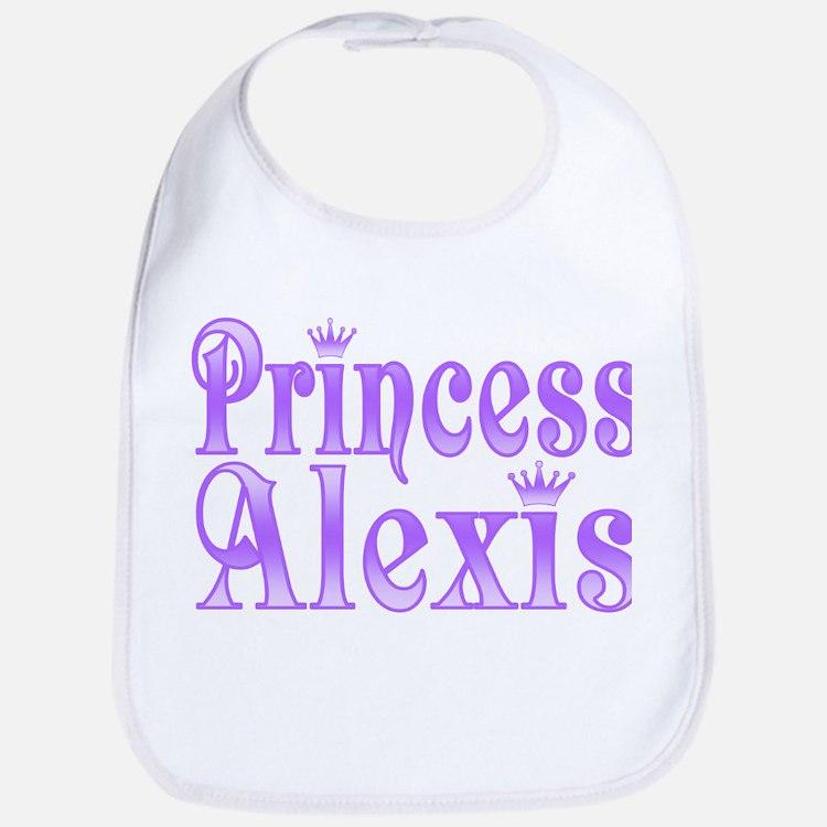 """Princess Alexis"" Bib"