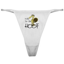 Talk to the Hoof Classic Thong