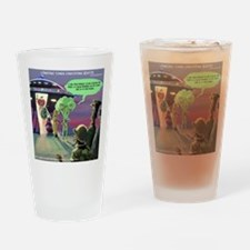 Spaced-Out Vegan Drinking Glass