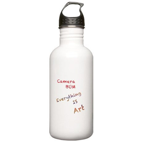 Everything is Art Water Bottle