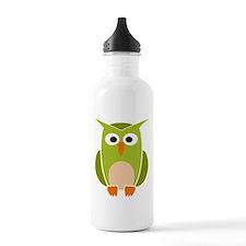 Funny Owl Water Bottle
