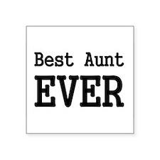 Best Aunt Ever Sticker