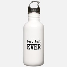 Best Aunt Ever Water Bottle