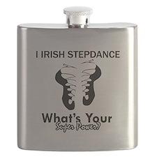 Irish Step Dance is my Superpower Flask