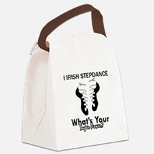 Irish Step Dance is my Superpower Canvas Lunch Bag