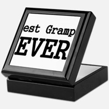 Best Grampa Ever Keepsake Box