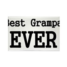 Best Grampa Ever Rectangle Magnet