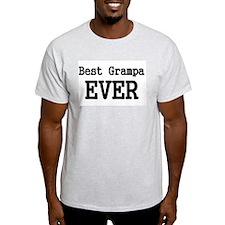 Best Grampa Ever T-Shirt