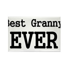 Best Granny Ever Rectangle Magnet