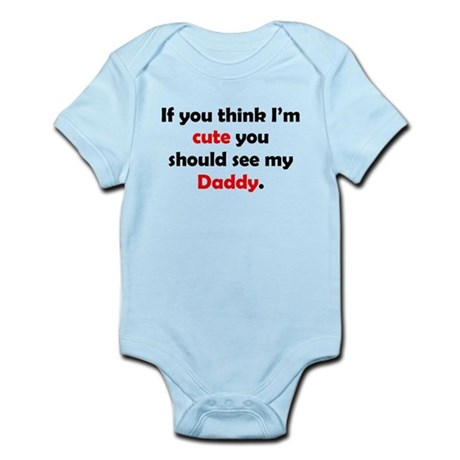 Cute Daddy Body Suit