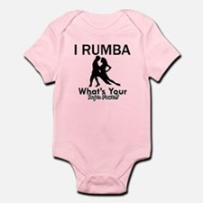Rumba is my Superpower Infant Bodysuit