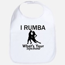 Rumba is my Superpower Bib