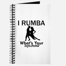 Rumba is my Superpower Journal