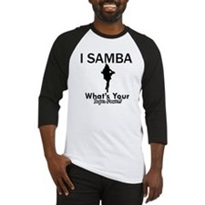 Samba is my Superpower Baseball Jersey