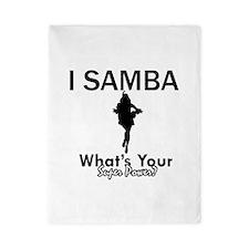 Samba is my Superpower Twin Duvet
