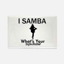 Samba is my Superpower Rectangle Magnet (10 pack)