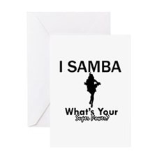 Samba is my Superpower Greeting Card