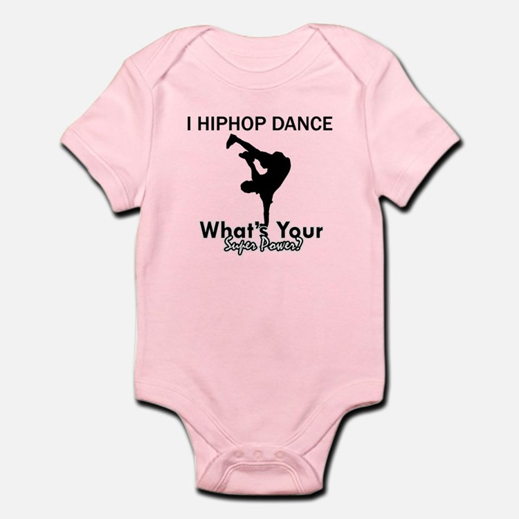 Hip Hop is my Superpower Infant Bodysuit