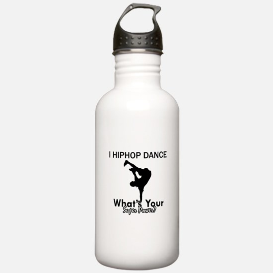 Hip Hop is my Superpower Water Bottle