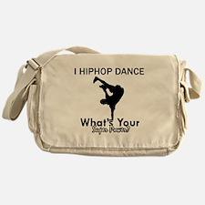 Hip Hop is my Superpower Messenger Bag
