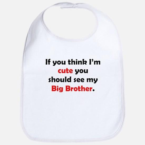 Cute Big Brother Bib