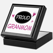 Proud Granmom Keepsake Box