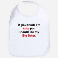 Cute Big Sister Bib