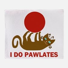 I Do Pawlates Cat and Exercise Humor Stadium Blan