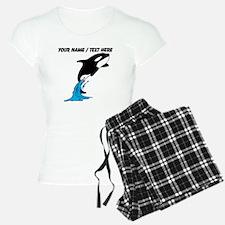Custom Jumping Whale Pajamas