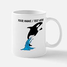 Custom Jumping Whale Mug