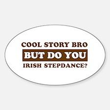 Cool Irish Step Dance designs Decal