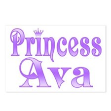 """Princess Ava"" Postcards (Package of 8)"